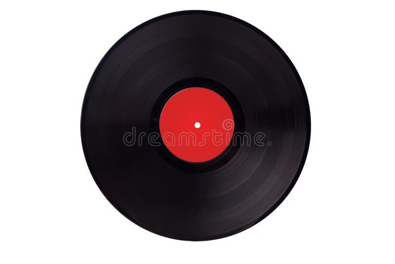 Tappning för musik för lek för Vynil vinylrekord royaltyfri bild
