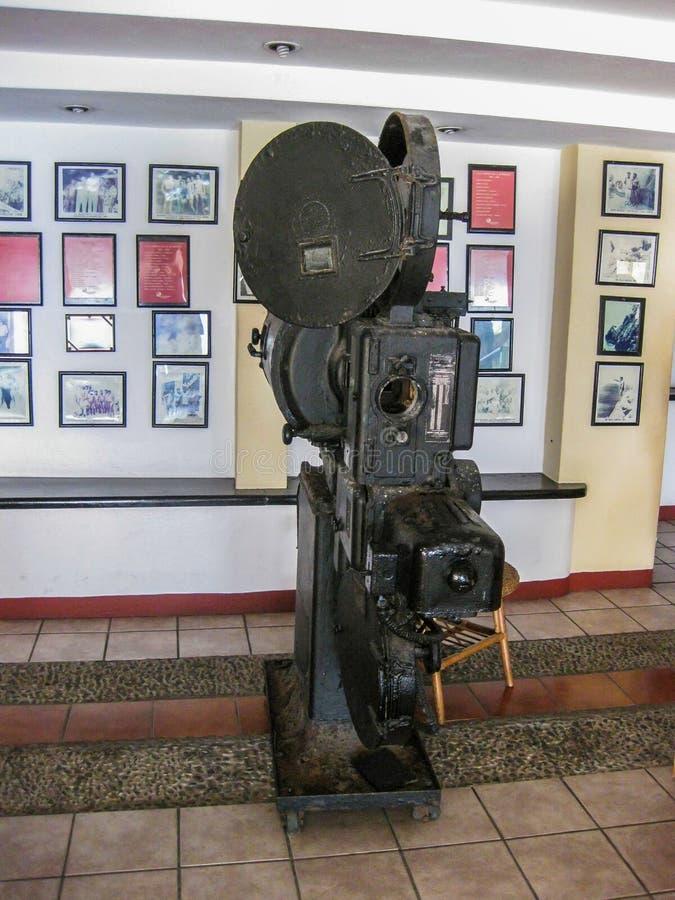 tappning för projektor för bana för clippingfilm bland annat arkivfoton