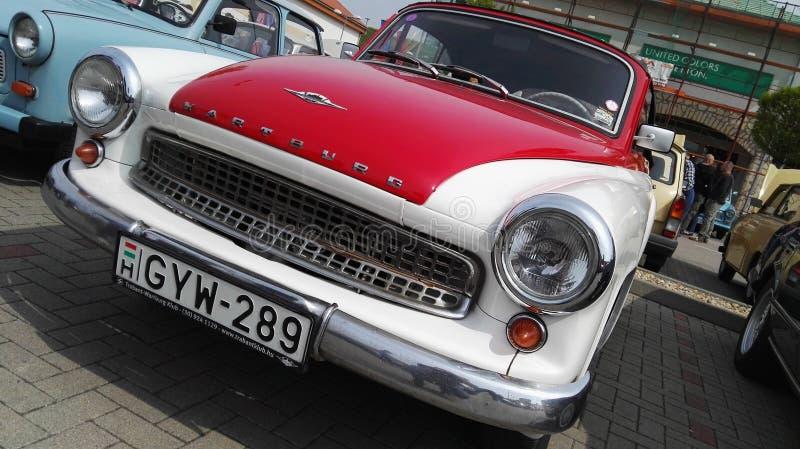 tappning för sepia för bilbil retro royaltyfria foton