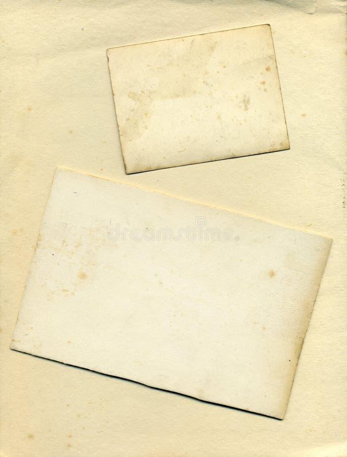 tappning för textur för bakgrundskortkanter royaltyfri foto