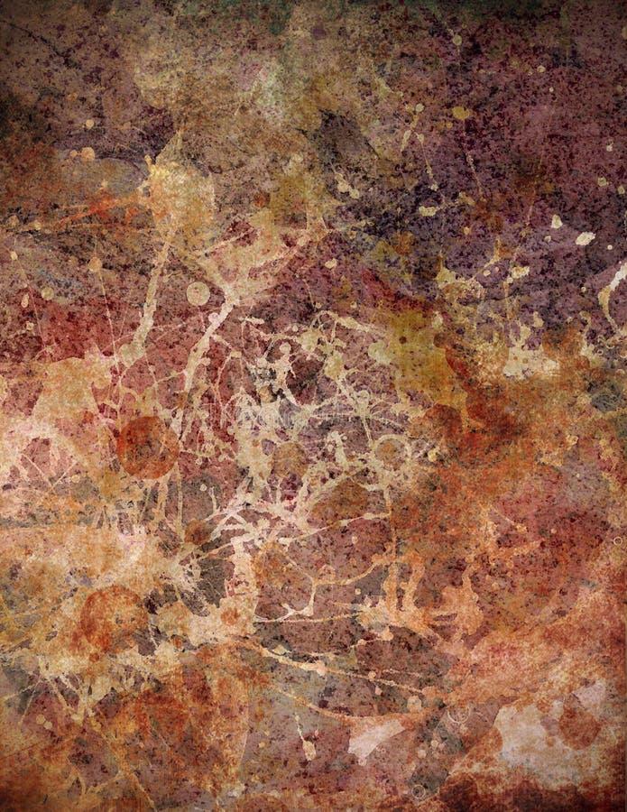 tappning för textur för bakgrundsmarmor röd royaltyfri illustrationer