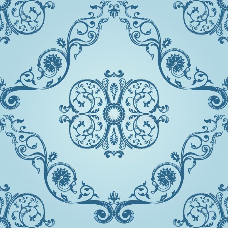 Download Tappning För Textur För Bakgrundsmodell Seamless Vektor Illustrationer - Illustration av silk, blom: 19785315