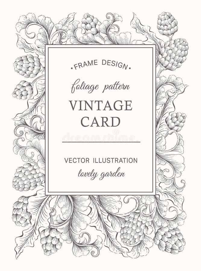 tappning för textur för petunia för blom- blomma för bakgrundkort gammal royaltyfri illustrationer