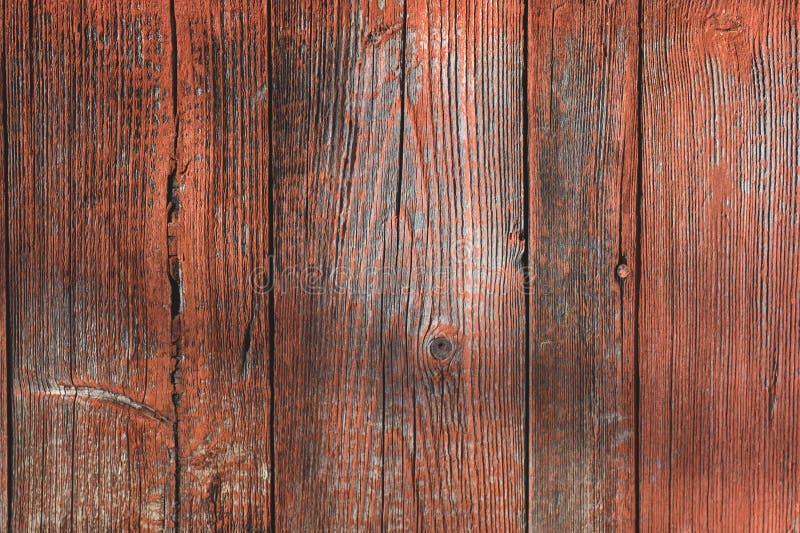 Tappning målad wood plankatexturbakgrund Tom mall royaltyfri bild