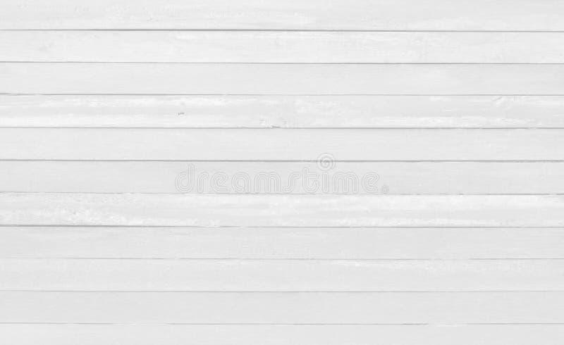 Tappning målade träväggbakgrund, textur av vit grå färg med den gamla naturliga modellen för designkonstarbete royaltyfri foto