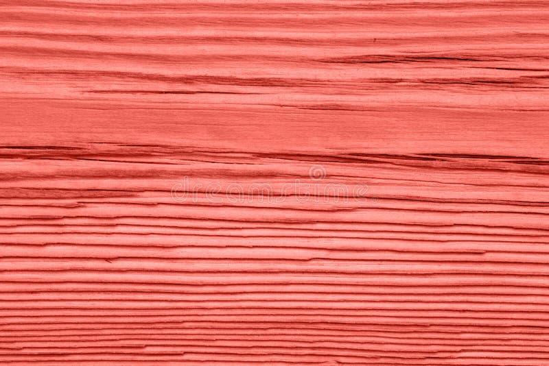 Tappning som bor koralltr?textur abstrakt bakgrund royaltyfri bild