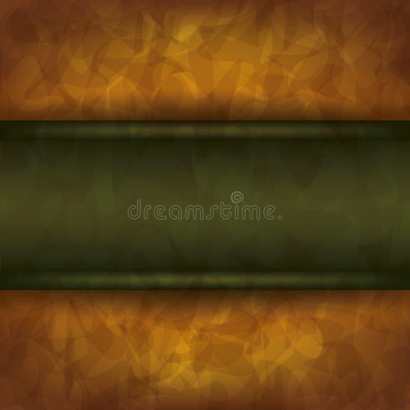 Tappningbakgrund med brädet vektor illustrationer