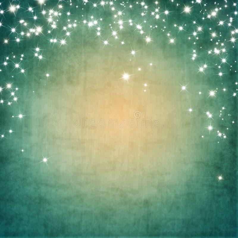 Tappningbakgrund med stjärnor arkivbilder