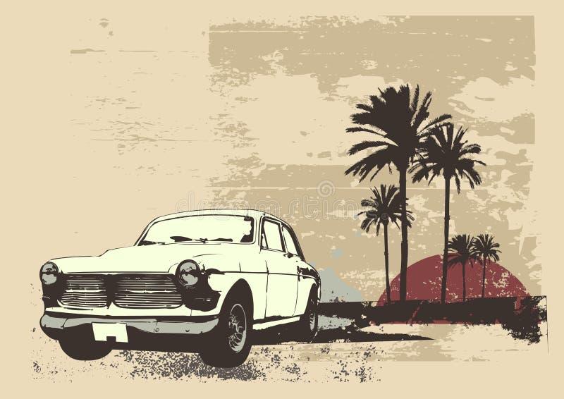 Tappningbil stock illustrationer