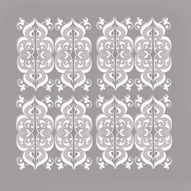 Tappningdamastmodeller royaltyfri illustrationer