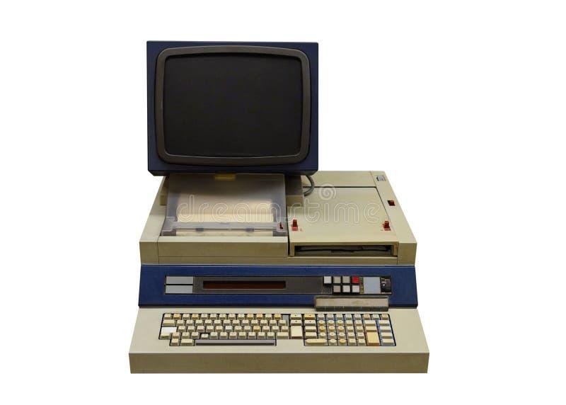 Tappningdator som isoleras på vit bakgrund royaltyfri bild
