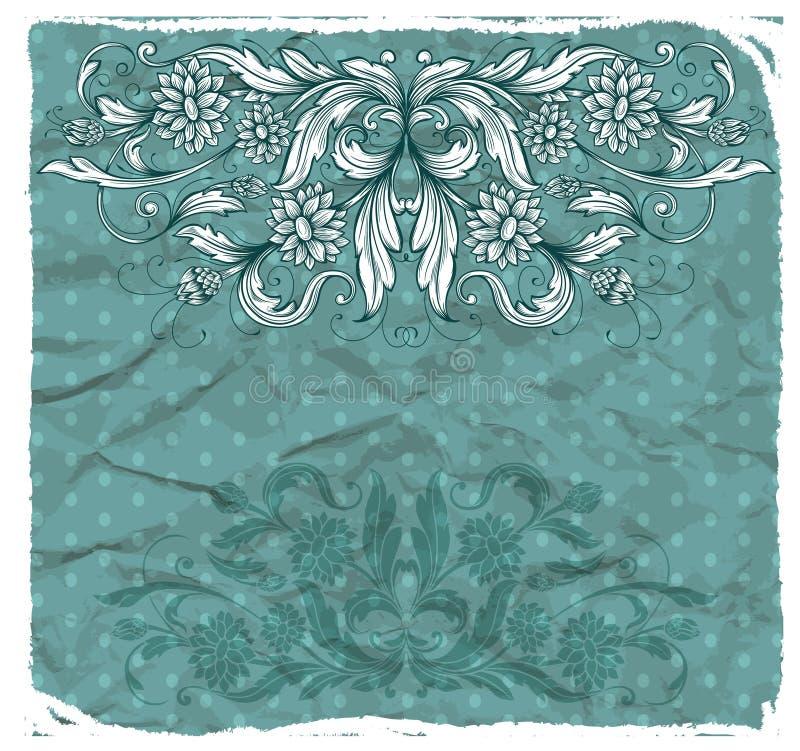 Tappningdesignbeståndsdelar royaltyfri illustrationer
