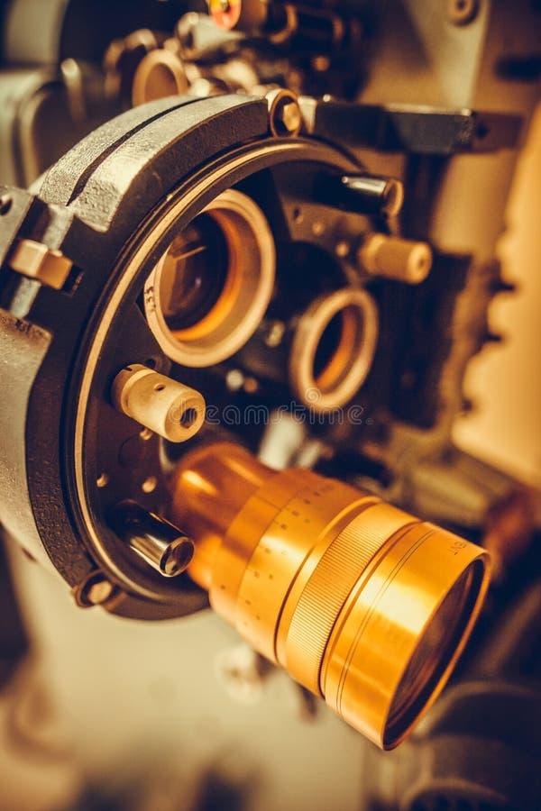 Tappningfilmprojektor arkivbilder