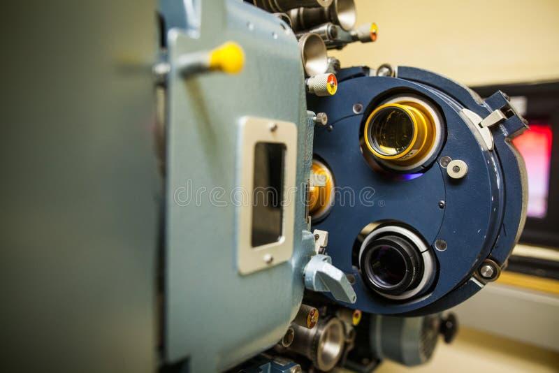 Tappningfilmprojektor royaltyfria bilder