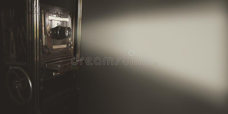 Tappningfilmprojektor royaltyfri fotografi