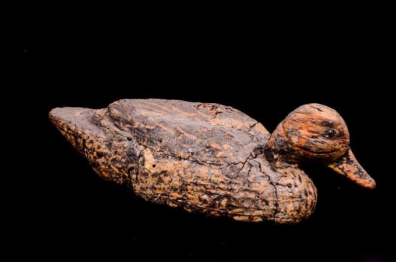 Tappninggås Duck Decoy Cork Recall arkivfoto