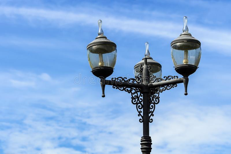 Tappninggataljus royaltyfri foto