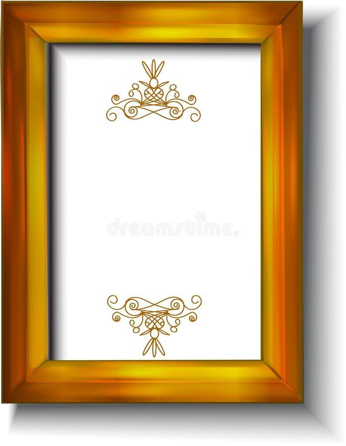 Tappninggouldram royaltyfri illustrationer