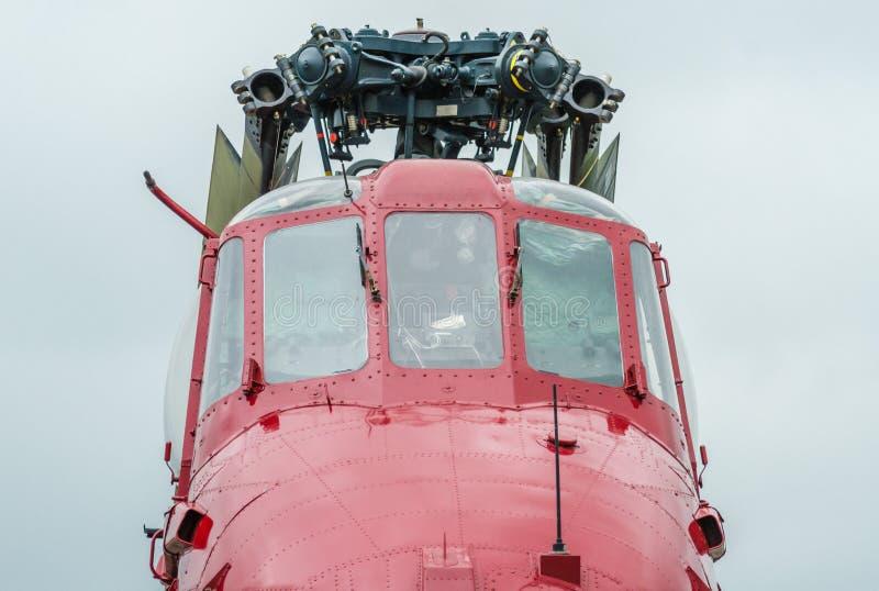 Tappninghelikopter arkivfoto