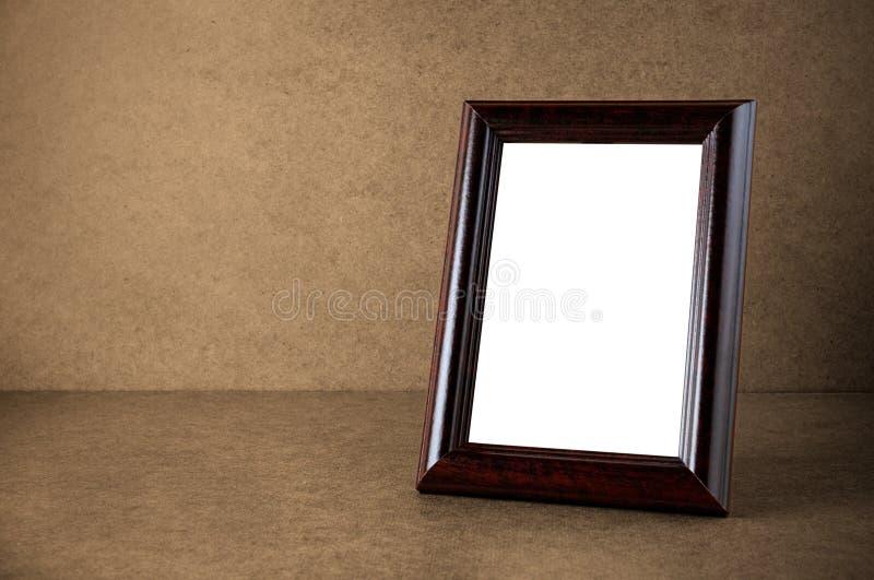 Tappninginramar träfotoet royaltyfri fotografi