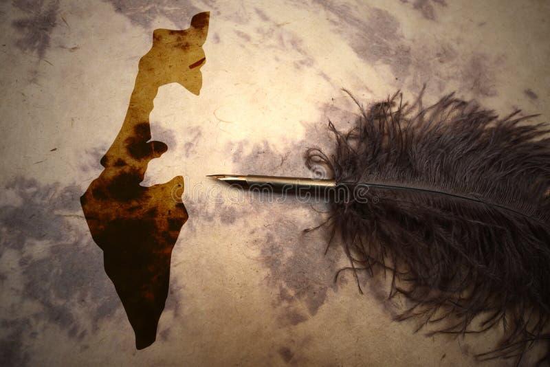 TappningIsrael översikt arkivbild