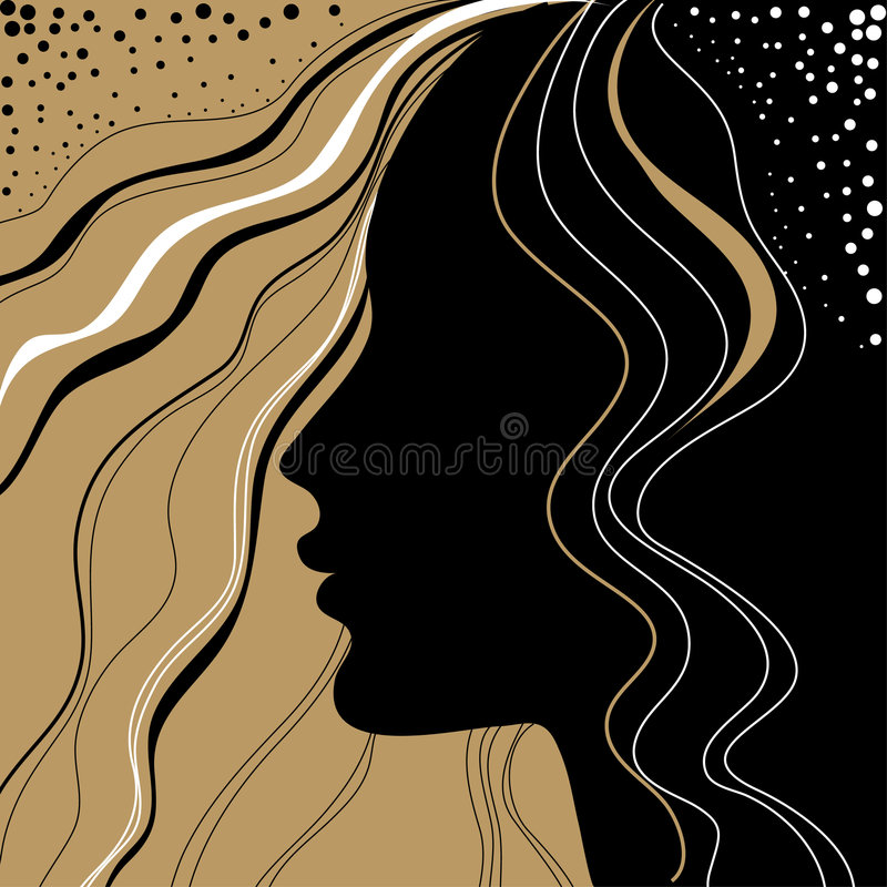 tappningkvinna vektor illustrationer