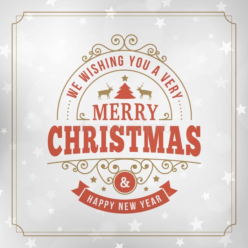 Tappninglinje bakgrund för glad jul för konsthälsningkort royaltyfria foton