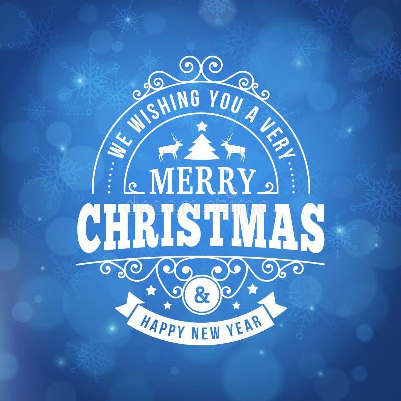 Tappninglinje bakgrund för glad jul för konsthälsningkort royaltyfri foto