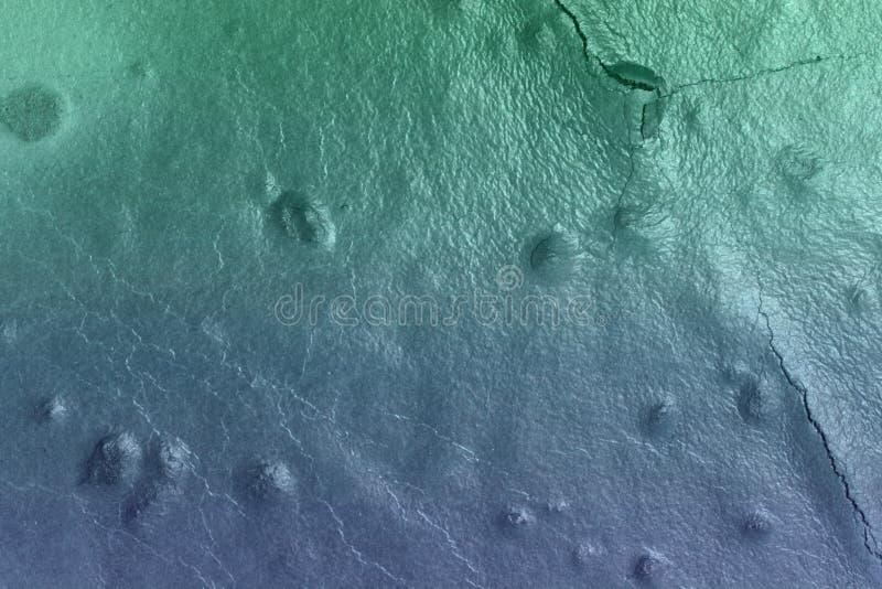 Tappningljus - blå industriell lyftt murbruktextur - trevlig abstrakt fotobakgrund royaltyfria foton