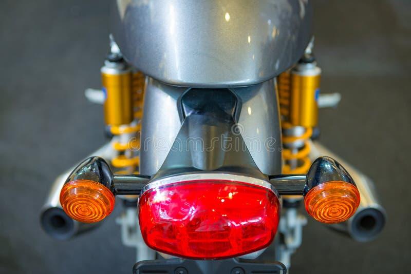 Tappningmotorcykel arkivbild