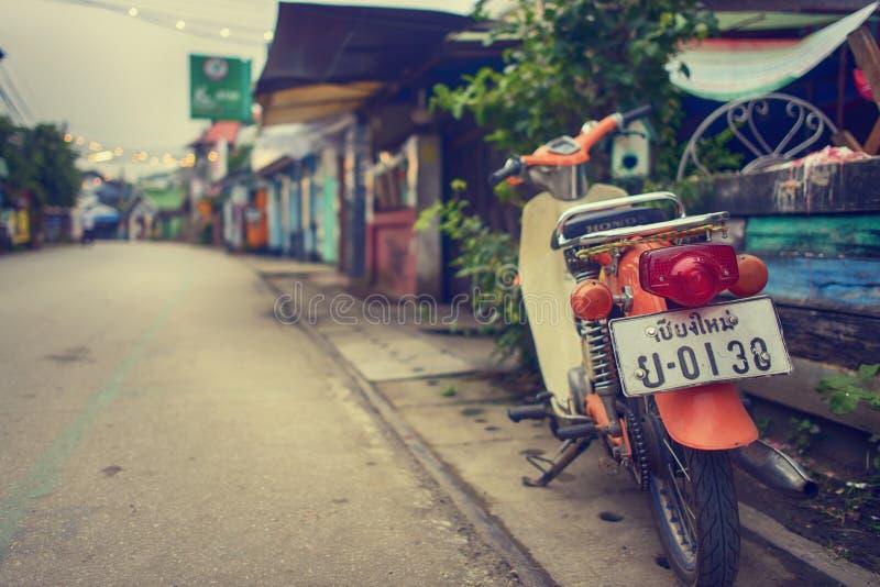 Tappningmotorcyklar fotografering för bildbyråer