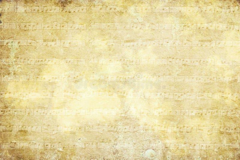 Tappningmusikalbakgrund royaltyfri illustrationer