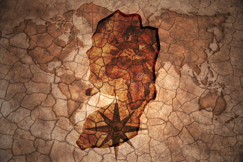 TappningPalestina översikt royaltyfri fotografi