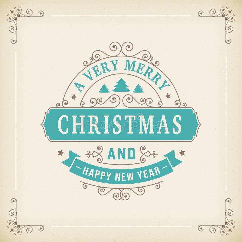 Tappningprydnad för glad jul på pappers- bakgrund royaltyfria bilder