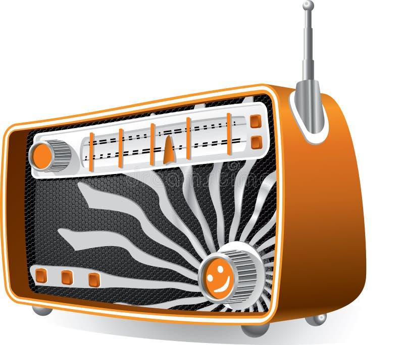 Tappningradio vektor illustrationer