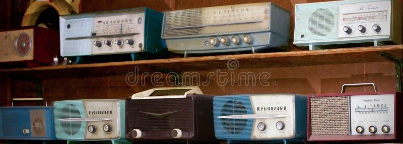 Tappningradior royaltyfria bilder