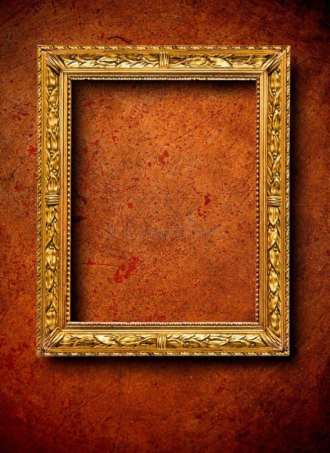 Tappningram på väggen royaltyfri fotografi