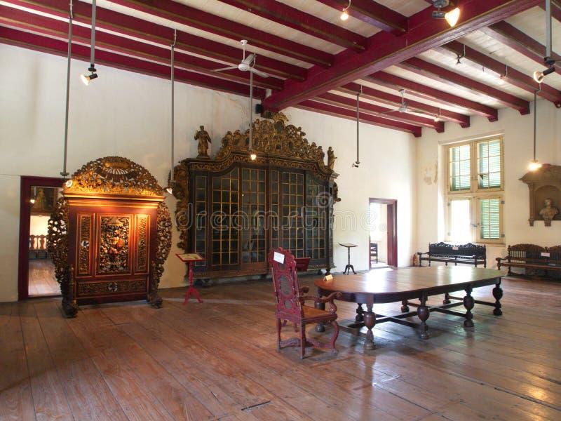 Tappningrum i historien och nationellt museum av Indonesien Tr fotografering för bildbyråer