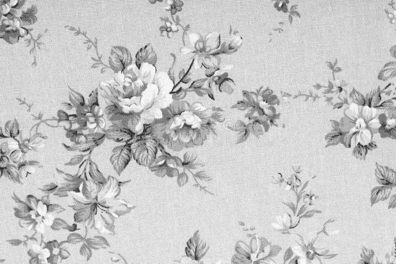 Tappningstil av gobelängen blommar tygmodellen royaltyfri foto