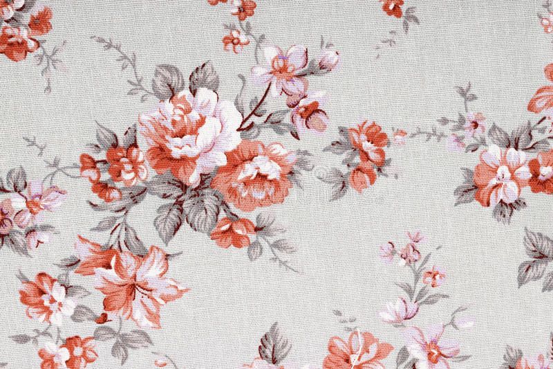 Tappningstil av gobelängen blommar tygmodellen arkivfoto