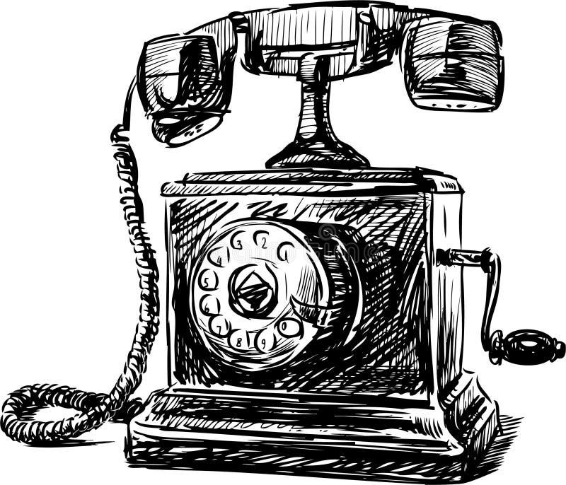 Tappningtelefon 2 vektor illustrationer
