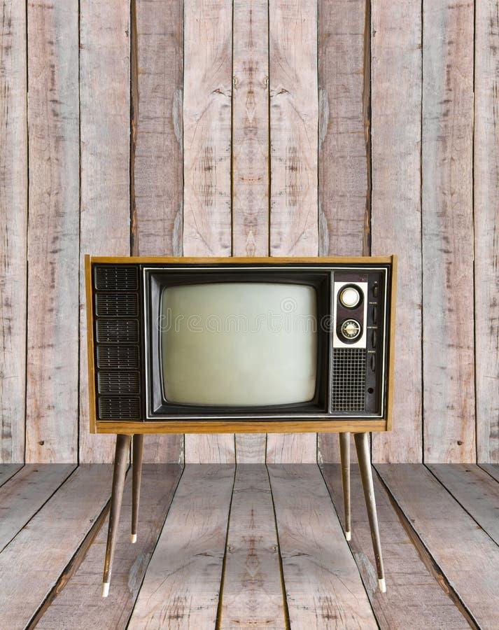 Tappningtelevision royaltyfria bilder