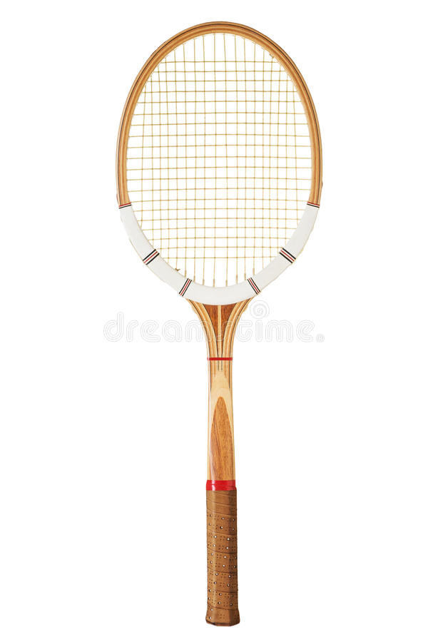 Tappningtennisracket royaltyfria foton