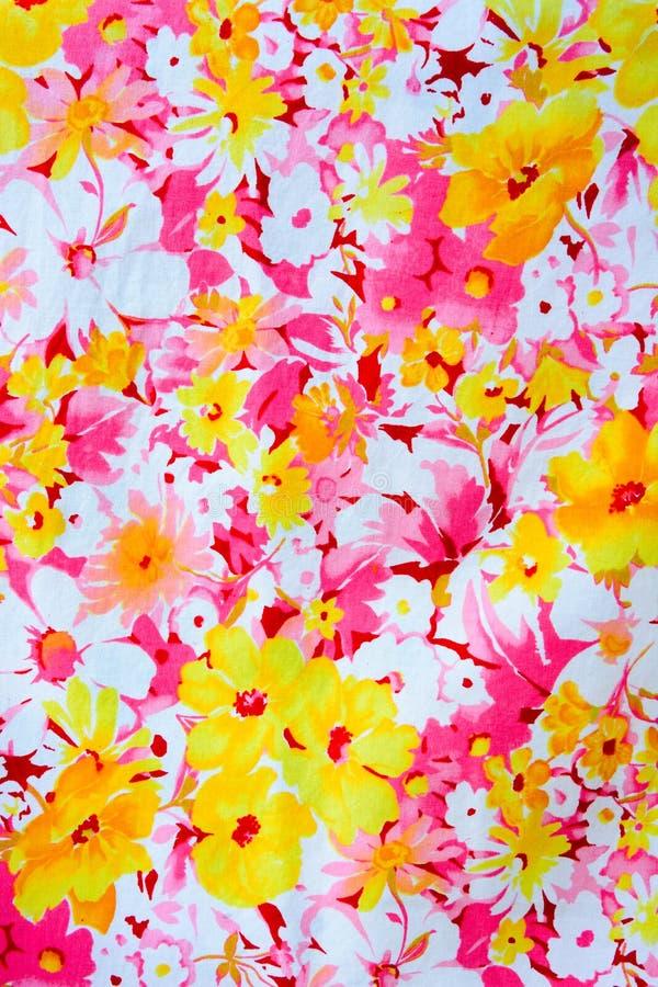 Tappningtyg av blommor för bakgrund arkivfoton