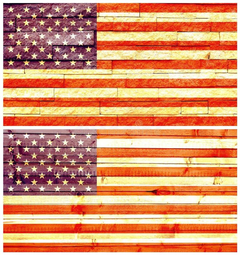 Tappningväggen sjunker av USA royaltyfria foton