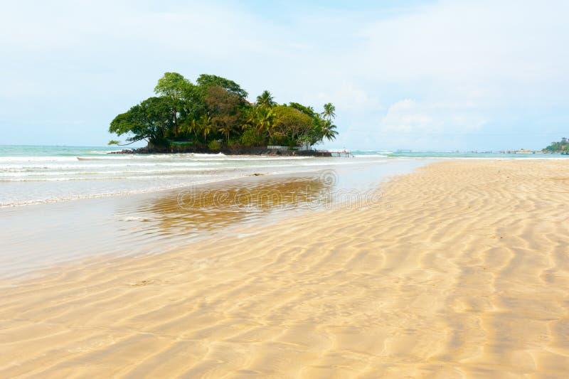 Taprobane Wyspy krajobraz zdjęcie royalty free
