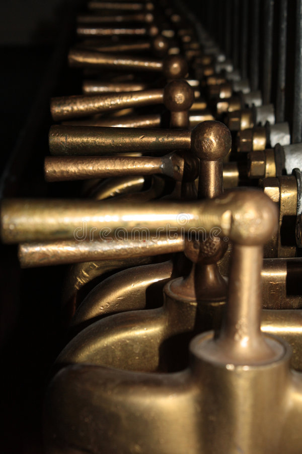 Download Taps stock image. Image of brewery, taps, copper, closeup - 7979017