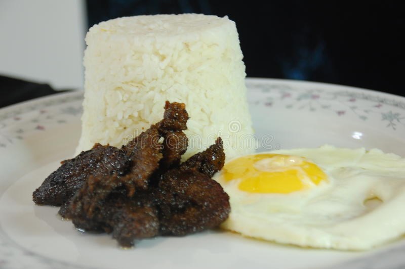 Tapsilog photo stock
