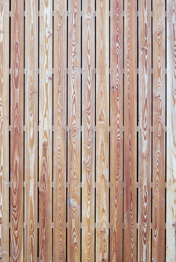 Tapume de madeira moderno imagens de stock royalty free