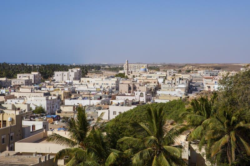 Taqah Oman fotografering för bildbyråer
